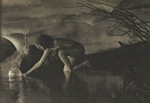 Anne Brigman, The Bubble, 1909