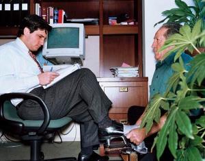 "© LARS TUNBJORK / AGENCE VU ""OFFICE"" - ""LES BUREAUX"" 1999 N¡5480"